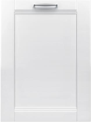 """Bosch Benchmark SHx89PW5xN 24"""" Built-In Dishwasher with 16 Place Settings, Rackmatic, AquaStop Leak Protection, 7 Cycles, 7 Options, 39 dBA Noise Level, and 3 Racks, in"""
