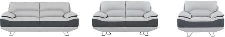 Global Furniture USA U7330R6U6SLCH U7330 Living Room Sets