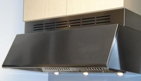 Faber Professional Collection Magnum MAGNXXSS Canopy Pro Style Under Cabinet Hood With 600 CFM PRO Internal Blower, Convertible Ventilation, 3 Speed Control, In Stainless Steel