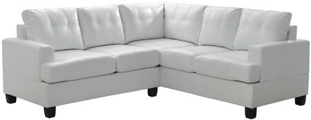Glory Furniture G587BSC G580 Series Stationary Bycast Leather Sofa