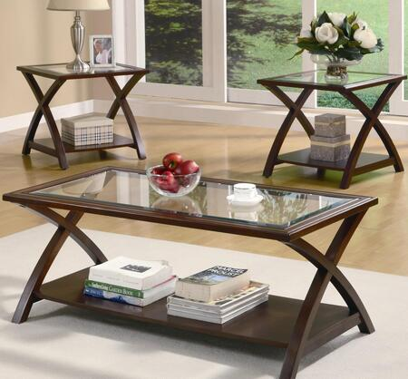 Coaster 701527 Transitional Living Room Table Set