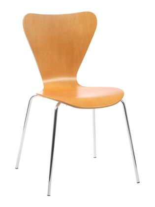 Euro Style 02840 Tendy Series  Dining Room Chair
