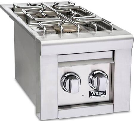 "Viking VQGSB5130SS 13"" Outdoor Double Side Burner, in Stainless Steel"