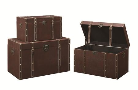 3-Piece Trunk Front View