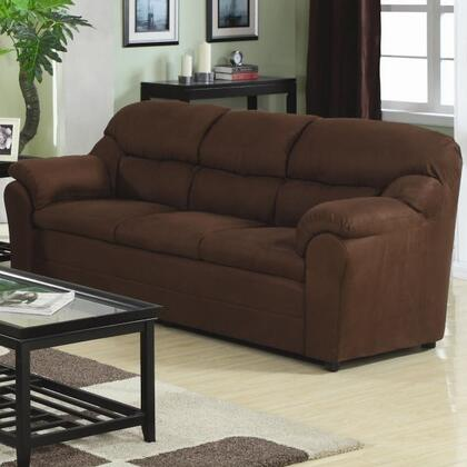Coaster 501861N  Stationary Micrfiber Sofa