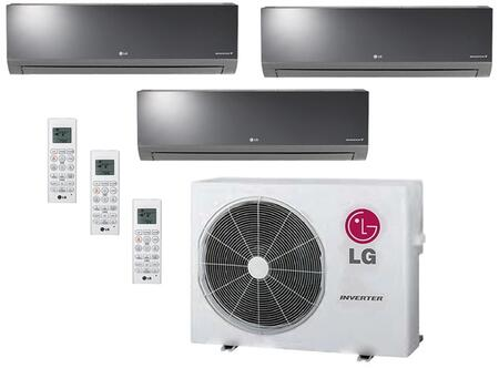 LG 704075 Triple-Zone Mini Split Air Conditioners