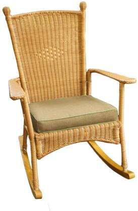 Tortuga PSR-C Portside Classic Rocker Chair With All-Weather Wicker & In