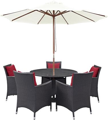 Modway EEI2193EXPREDSET Round Shape Patio Sets