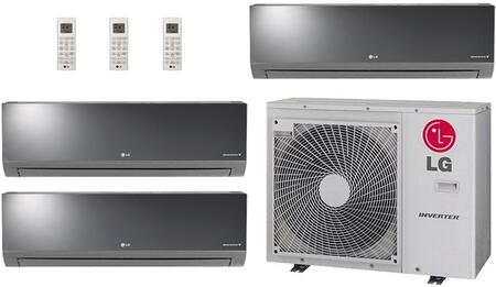 LG 704281 Triple-Zone Mini Split Air Conditioners