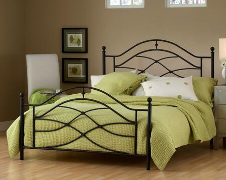Hillsdale Furniture 1601BQR Cole Series  Queen Size Poster Bed
