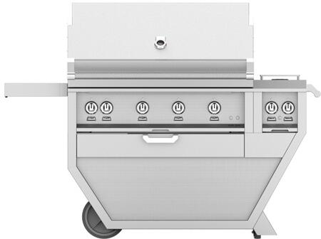 60 in. Deluxe Grill with Side Burner   Steeletto
