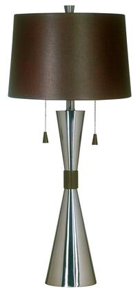 Picture of 02371 Bella Table Lamp in Brushed Steel