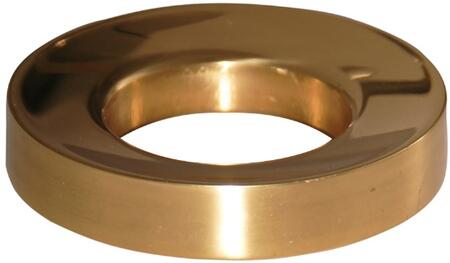 Mounting Ring with Polished Brass Finish (Regular View)