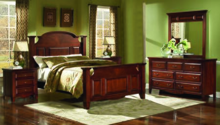"New Classic Home Furnishings 6740QBDMNN Clark""s Crossing Que"