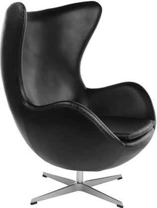 Fine Mod Imports FMI1131 Inner Chair In Leather: