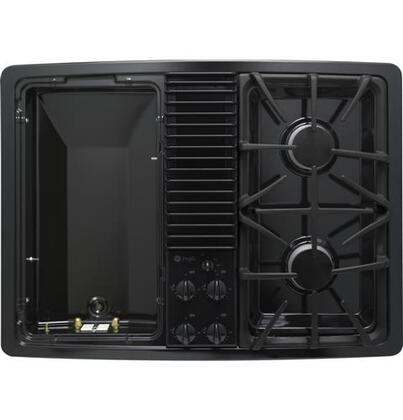 GE Profile PGP990DEFBB  Gas Modular Style Cooktop, in Black