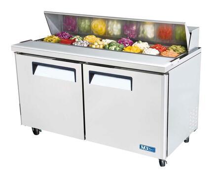 "Turbo Air MST60 60.25"" Freestanding Capacity Refrigerator"