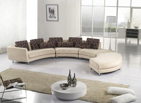 VIG Furniture A94F  Fabric Sofa
