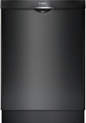 "Bosch SHS5AV56UC 24"" Ascenta Series Built In Fully Integrated Dishwasher with 14 Place Settings Place Settingin Black"