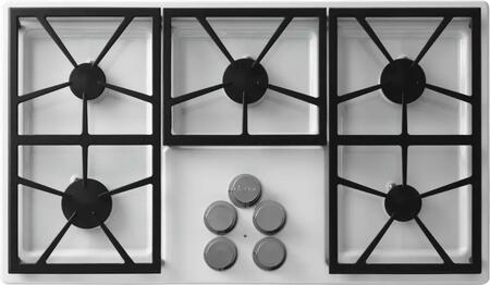 Dacor DTCT365GWNG Distinctive Series Gas Sealed Burner Style Cooktop, in White