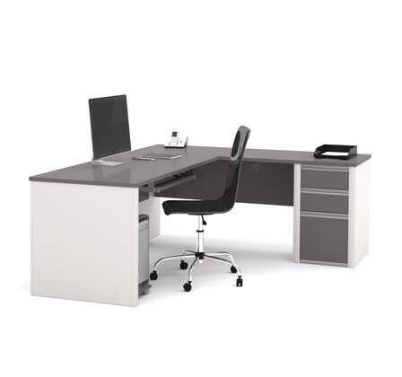 Bestar Furniture 93880 Connexion L-shaped workstation