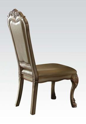Acme Furniture 63153 Dresden Series Traditional PU Leather Wood Frame Dining Room Chair