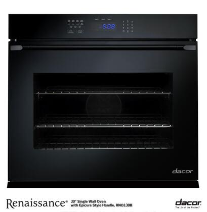 "Dacor Renaissance RNO130 30"" Single Electric Self-Cleaning Convection Wall Oven with 4.8 cu. ft. Capacity, 2 GlideRacks, RapidHeat Broil Element, 6 Cooking Modes, and Hidden Bake Element in:"