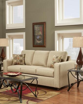 Chelsea Home Furniture 193603 Talbot Sofa with 16 Gauge Wire, Sinuous Springs, Hi-Density Foam Core Cushions and Solid Kiln Dried Hardwood Frames in