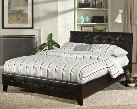 Standard Furniture 92033A Rochester Series  King Size Panel Bed
