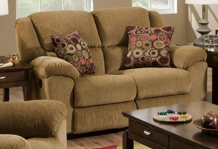 """Catnapper Transformer Collection 1942-2- 65"""" Rocking Reclining Loveseat with Pub Back, Pillow Top Arms and Chenille Fabric Upholstery in"""
