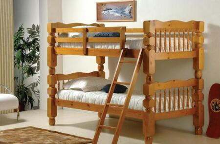 Donco 11102H  Twin Size Bunk Bed