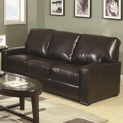 Coaster 504261 Kelsey Series Stationary Bonded Leather Sofa