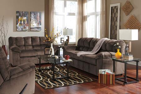 Milo Italia MI6862SLRCAFE Leilani Living Room Sets