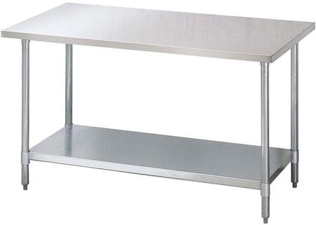 """Turbo Air TSW3 X 30"""" X 34"""" Mid-Grade Work Table with Stainless Steel Table Top"""