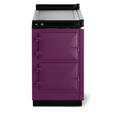 """AGA AHC 20"""" Freestanding Electric Range with Warming Plate and Two Ovens for Warming and Simmering foods in"""