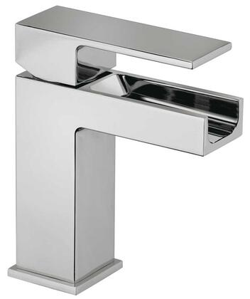 Jewel Faucets 12211WFSXX Single Blade Handle Lavatory Faucet With Waterfall Spout