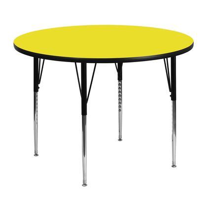 Flash Furniture XUA48RNDYELHAGG