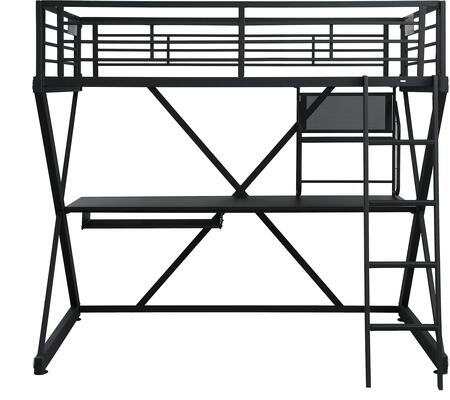Powell 354117 Z-Bedroom Series  Twin Size Bunk Bed