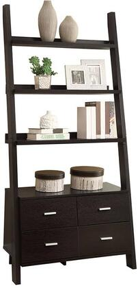 Coaster 800319 Bookcases Series  4 Shelves Bookcase