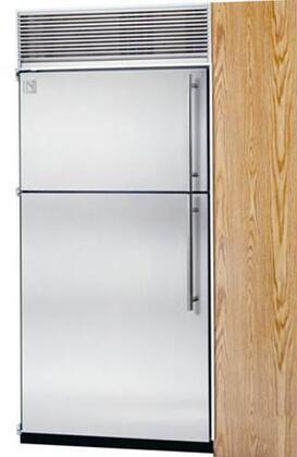 Northland 30TFWPL Built In Counter Depth Top Freezer Refrigerator with 19.4 cu. ft. Total Capacity 8 Glass Shelves 6 cu. ft. Freezer Capacity