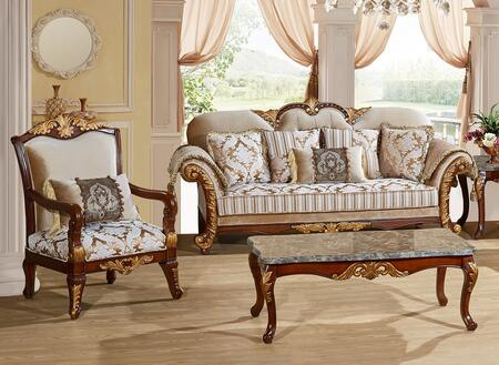 Meridian 6512PCARMKIT1 Camelia Living Room Sets
