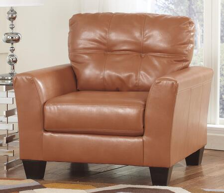 Milo Italia MI-1992BTMP Kamden Chair with Tufted detailing on Seat Back, Plush Seat Cushion and Tapered Feet in