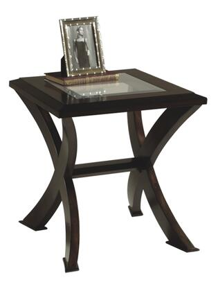 Magnussen T125303 Roxboro Series Modern Rectangular End Table