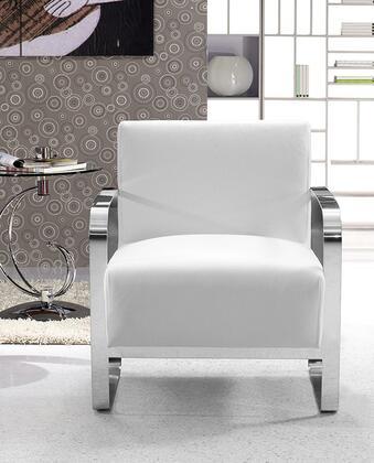 "VIG Furniture VG2T0560WHT 28"" Lounge Chair"