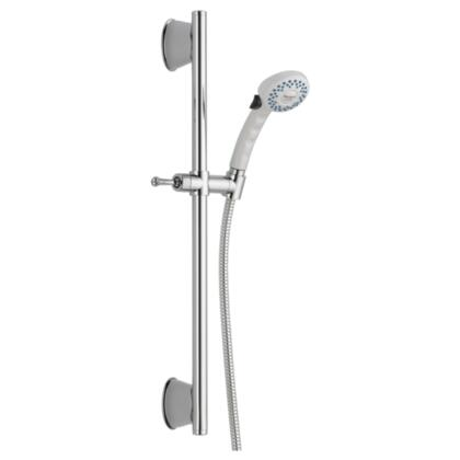 Universal Showering Components  51539-WHB Delta: Slide Bar Hand Shower in White