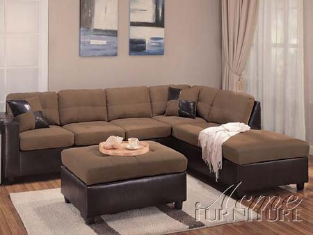 Acme Furniture 101058F Milano Series Sectional Sofa