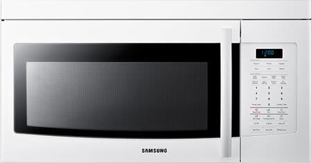 Samsung Appliance SMH1713W 1.7 cu. ft. Capacity Over the Range Microwave Oven