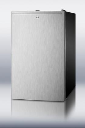 """Summit SWC525LBIDSSSHH 19.94"""" Wine Cooler"""