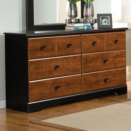 Standard Furniture 61259A Steelwood Series Wood Dresser