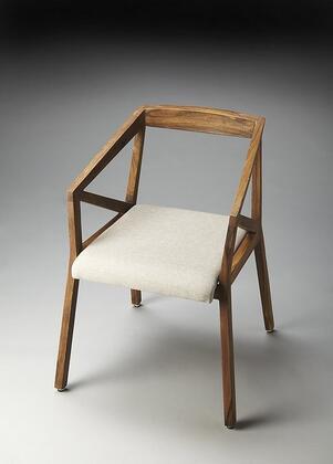 Butler 2047140 Armchair Fabric Wood Frame Accent Chair